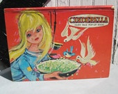 vintage 60's Cinderella Fairy Tale POP-UP Book ... printed in the Netherlands
