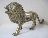 King of the Jungle, 1960s Brass Lion