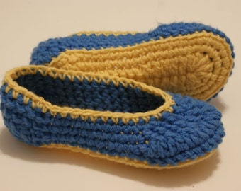 Funky Crocheted Slippers