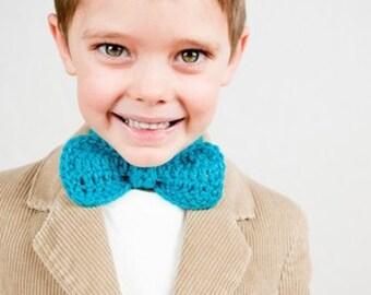 Crochet Pattern, Bow Tie in Multiple Sizes - Instant Download Crochet Pattern