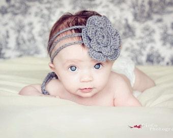 Instant Download Crochet Pattern - Sunny Headband Pattern