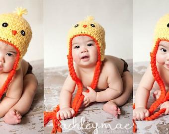 Crochet Pattern - Spring Chick Hat Pattern