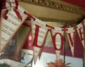 Victorian-Inspired Love Banner