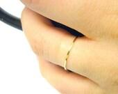 14k gold ring yellow gold ring 14k gold stacking ring thin gold band gold stackable ring thin gold ring skinny