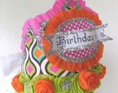 Birthday Crown - adult or child - BIRTHDAY GIRL or any custom saying