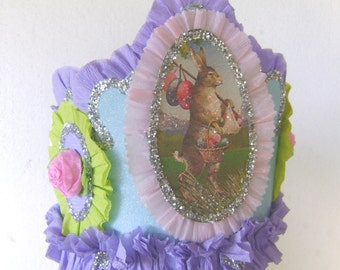 Easter Crown, Easter Hat, Easter Bunny Crown, Easter Bunny Hat