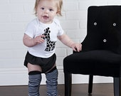 Black and White Giraffe Outfit