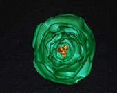 Kelly Green Satin Pin