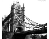 London Black & White Print