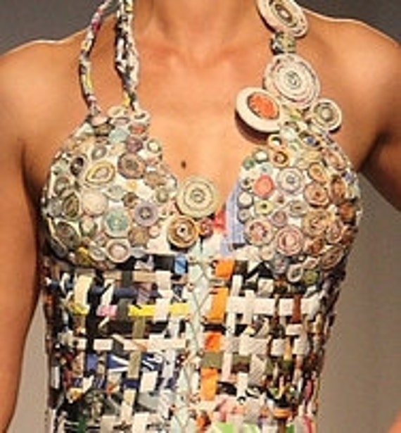 ANGeLIQUE my recycled paper dress