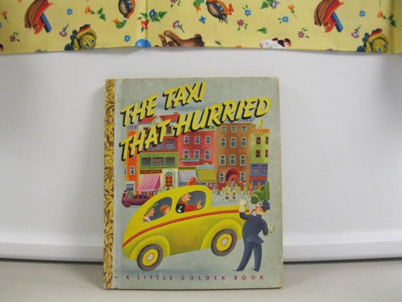 Taxi That Hurried Little Golden Book