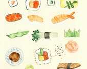 Palette of Sushi