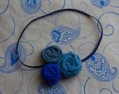 felt rosette headband by earth mama artistry