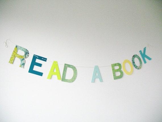 Read A Book banner