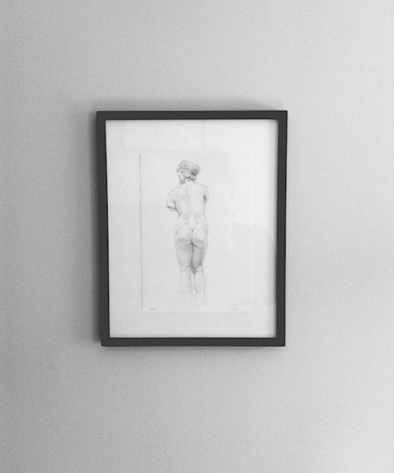 Study after greek statue 1- Free Shipping