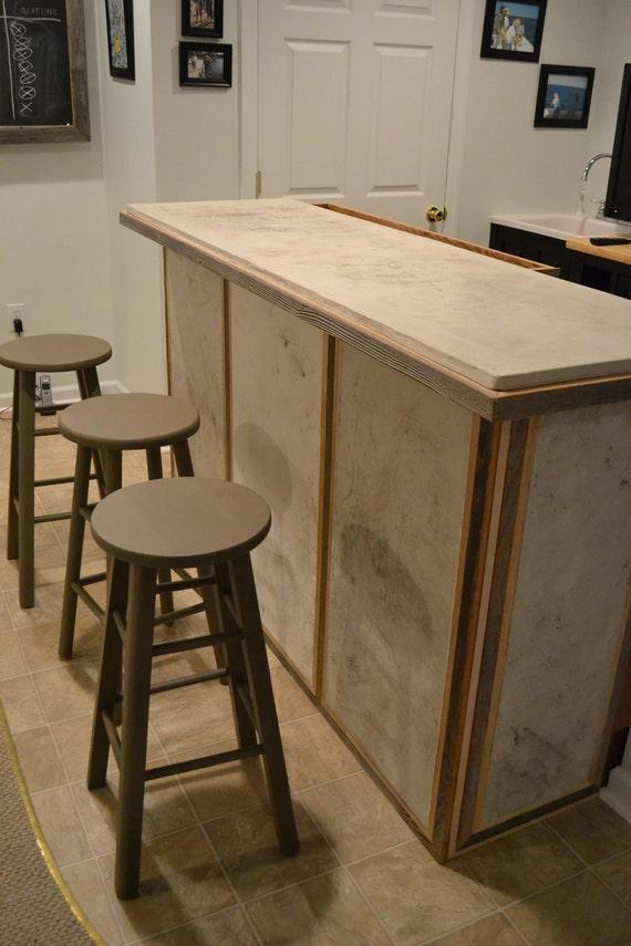 Custom Concrete Bar