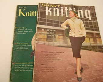 Vintage Smart Knitting Magazines