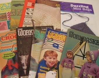 Vintage Craft Mini Magazines