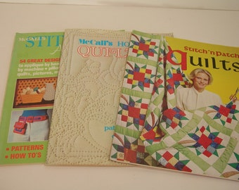 Three Vintage Craft Magazines