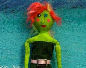 Funky Girl Art Doll