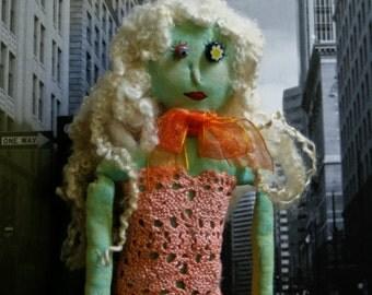 Fabulous in Orange Doll