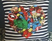 "Marvel Characters Pillow Cover 15"" x 15"""