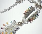 Chakra Allingment Necklace in Silver
