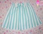 Minty Carnival Highwaist Skirt