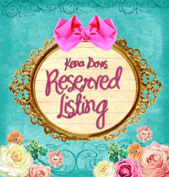 Reserved Listing - for princess2u56 - Thank you