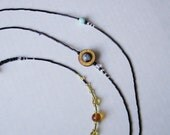 Solar System Cosmogram Necklace (75 inch style)