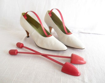 Vintage Pink Shoe Trees, Set of two