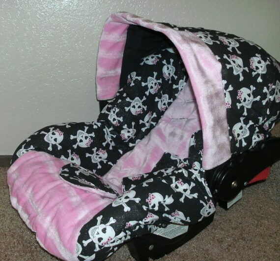 Sugar Skull Infant Car Seat Cover By Flashybaby On Etsy