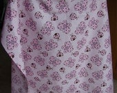 Nursing Cover, ladybugs on pink, pre-made and ready-to-ship