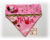 Embroidered Dog Bandana-Pupcake Sprinkles