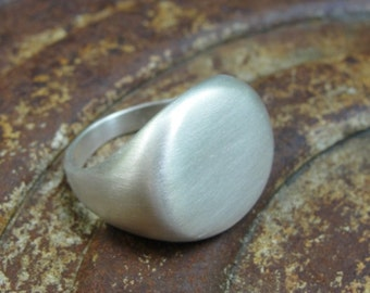 Silver Ring , Signet Ring , Simply Ring , Sterling Ring , Sterling Silver Signet Ring
