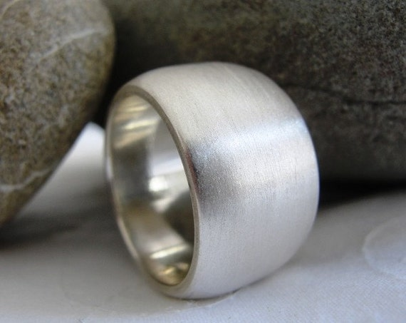 Custom item for Sandy - Sterling Silver Chunky Ring