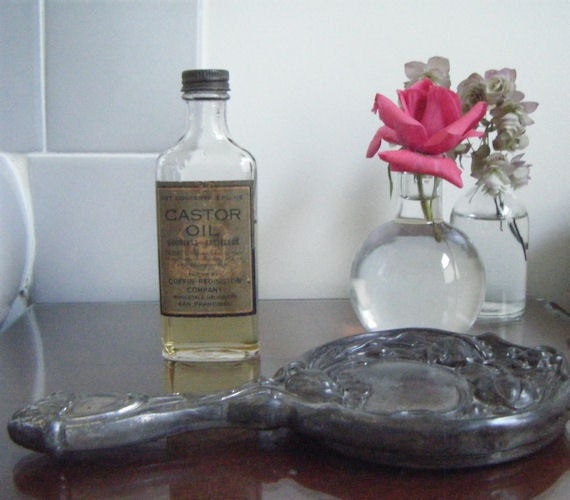 Reserved for Ciarre' Coffin-Redington Castor Oil Bottle