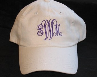 Personalized Baseball Cap/Hat - Embroidered for you!  Perfect for the bride, groom, mom, dad, wedding party or add your own design.