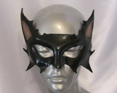 Cat Leather Mask