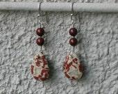 Brecciated Jasper earrings