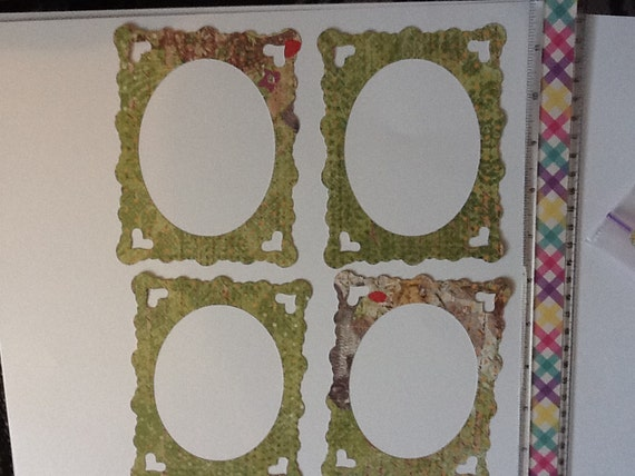 15 Double Sided Photo Frames for Scrapbooking