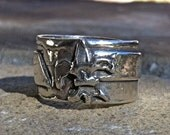 Fleur de Lis Ring in Sterling Silver