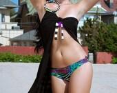 Tie Wrap & Bikini Combo