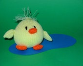 Clucky Ducky Amigurumi Knitted Toy Pattern PDF
