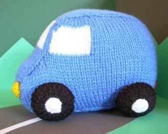 Victor Van PDF knitted toy pattern