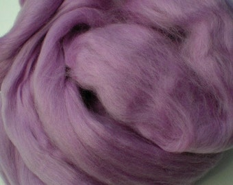 """Ashland Bay Solid Colored Merino for Spinning or Felting """"Lilac""""  4 oz."""