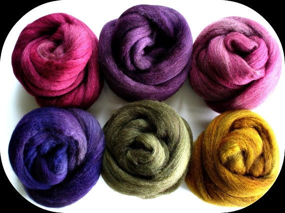"""BFL Combed Top 6 Oz.  """"Color Play - Your Way"""""""