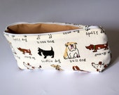 Last One - Zipper Puppies Pouch