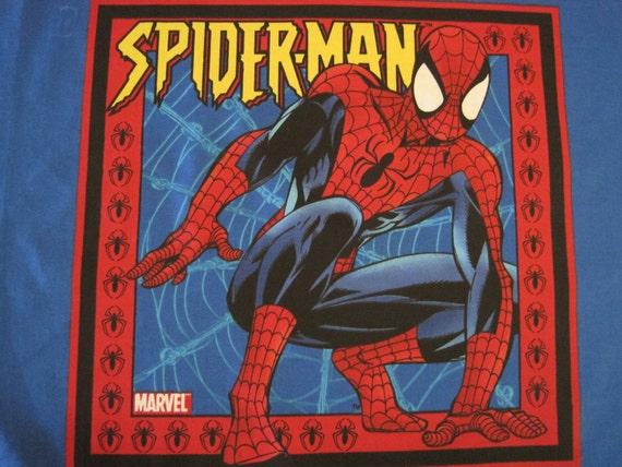 Spiderman Cotton Fabric Pillow Panel 2 Different Motifs 1 2