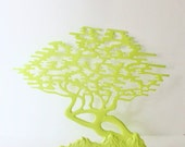 BLOWOUT 60% off sale Vintage LIME TREE of Life Brass Wall Hanging, Large